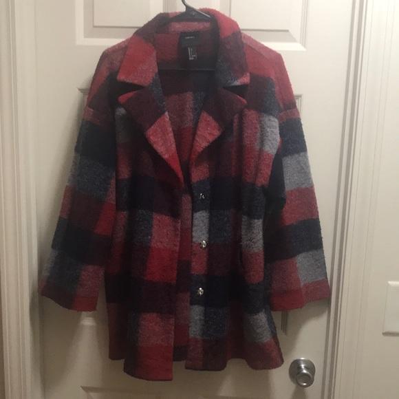 Forever 21 Fleece Coat